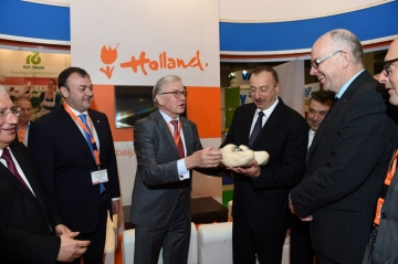 Business delegation from the Netherlands visited Azerbaijan